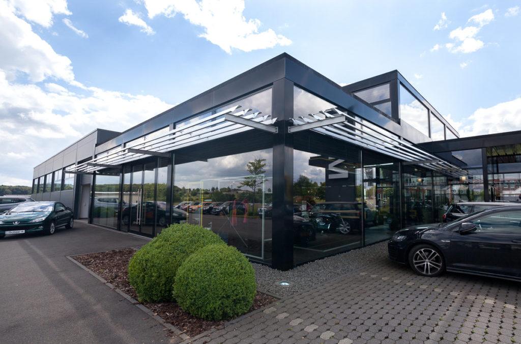 Neubau MINI-Autohaus Schaal Bitburg