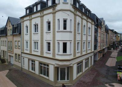 Neubau der Residenz Ardennes mit Gewerbe und Parkdeck Echternach