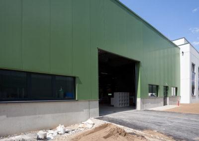 Neues Produktionsgebäude Cosmolux International CAN Zone Industrielle Echternach