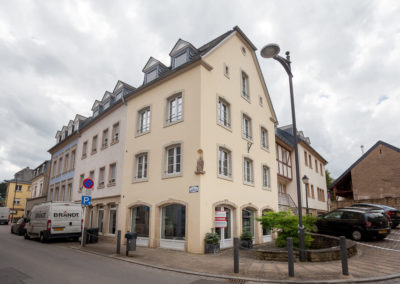 Umbau und Sanierung Mehrfamilienwohnhaus Echternach