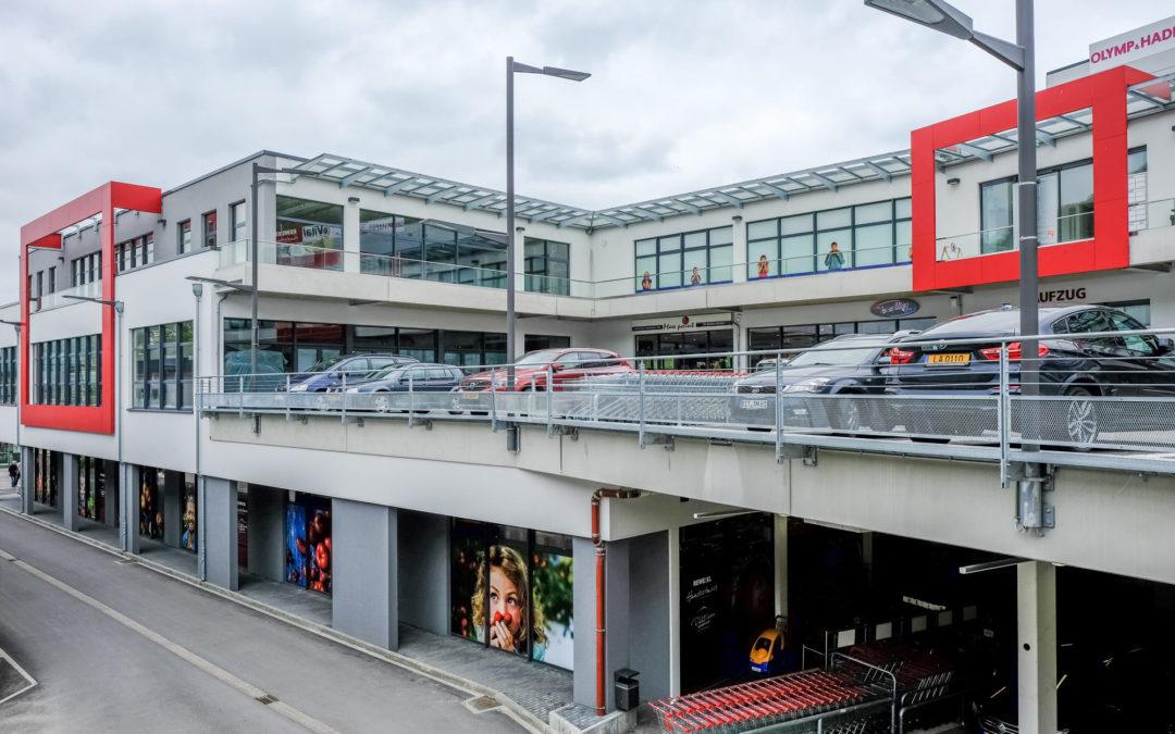 Neubau und Erweiterung Nonnemillen mit Centre de Secours für die Gemeinde Echternach
